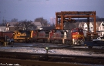 ATSF 536, 503, 500, and 7427 on #971